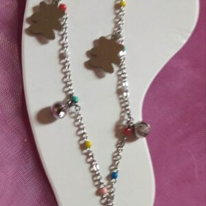 Bracelet de cheville en acier inoxydable différents modèles