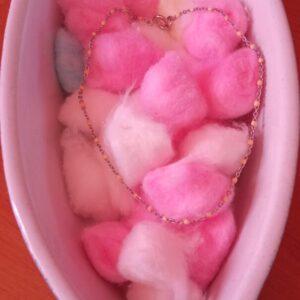 Bracelet de chaine cheville en fine perle